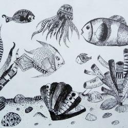 Либуркина София 10лет -Волшебство подводного мира