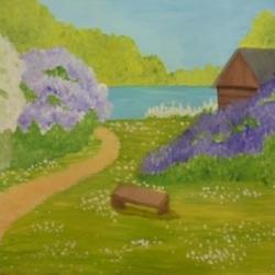 Тулынина Анастасия 13 лет Один раз в год сады цветут...