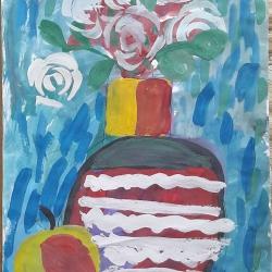 Ваза с цветами Базилюк Мария