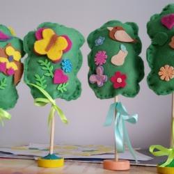 Весенний сад Коллективная работа