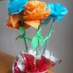 Весенние цветы Коллективная работа