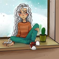 Искакова Дария_Морозным днем